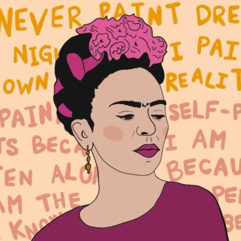 I found my passion after becoming disabled, and I thank Frida Kahlo for teaching me the beauty of second chances