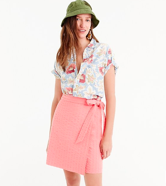 26cfdde3b96c 18 Wrap Skirts To Shop for Popular '90s Pinterest Trend - HelloGiggles