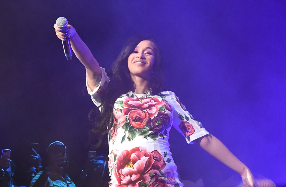 "The lyrics for Cardi B's new song ""Who Wants the Smoke"" are on fire (just like the weather today)"