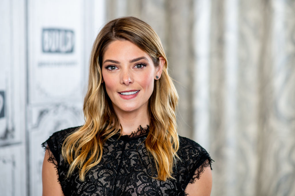 Ashley Greene is married, and her wedding dress is a sheer floral dream