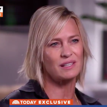 Robin Wright opened up about Kevin Spacey and the #MeToo movement