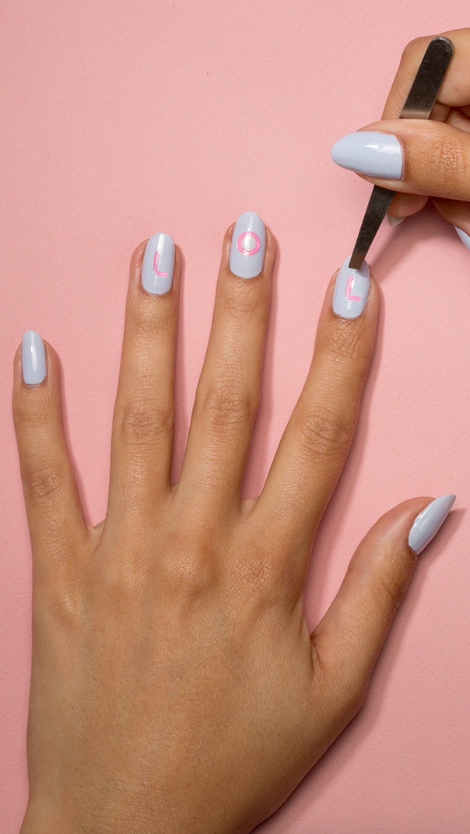 Sally Hansen Released Glow In The Dark Nail Stickers Hellogiggles