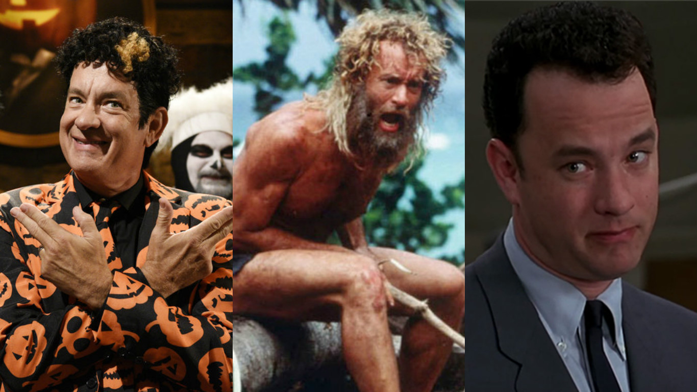 9 of Tom Hanks' best roles, and we've got a friend in all of them