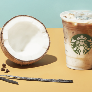 Starbucks is introducing two new drinks, and one is a coconut milk latte