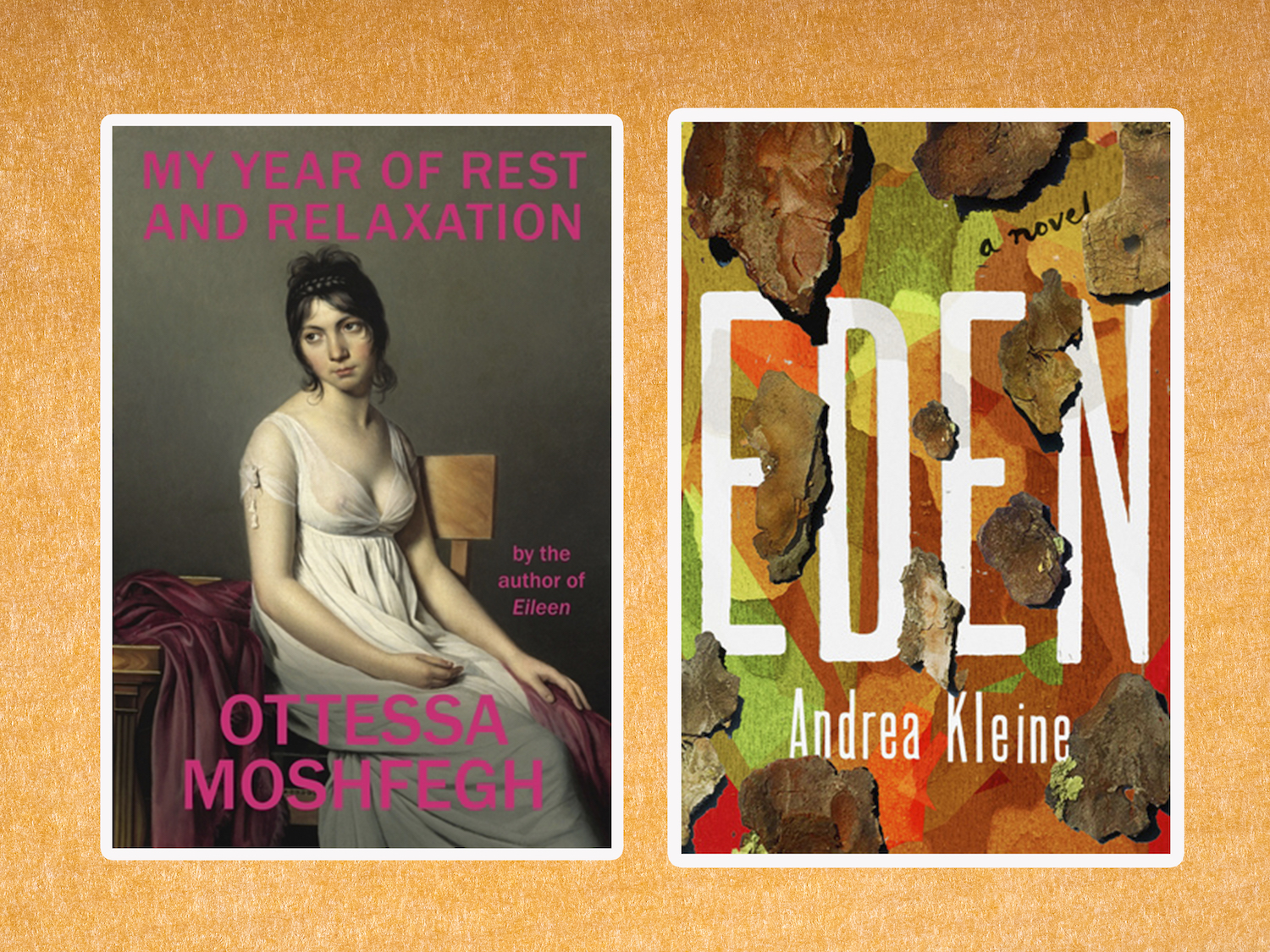 Books coming out this week: <em>Eden</em>, <em>My Year of Rest and Relaxation</em>, and more