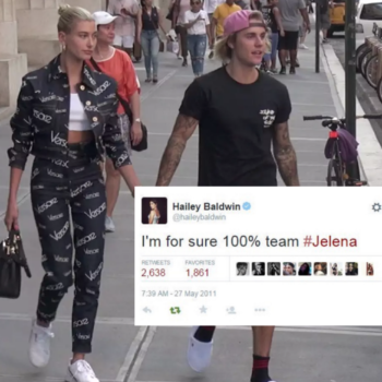 Hailey Baldwin was a hardcore Jelena stan way back in 2011, and we couldn't make this up if we tried
