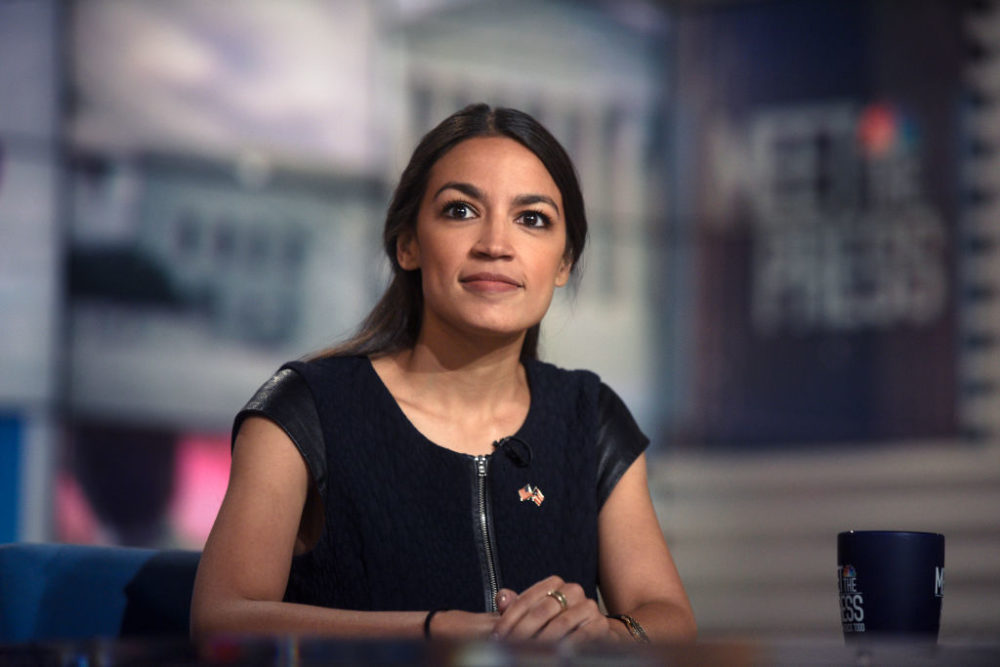 Alexandria Ocasio-Cortez just won another primary...in a district she wasn't even running in