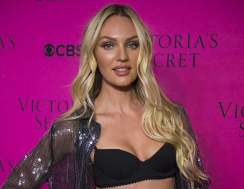 A Victoria's Secret model who just gave birth called out body shamers with these gorgeous bikini pics