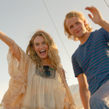 Lily James takes us through Donna's whirlwind romances in this exclusive behind-the-scenes clip of <em>Mamma Mia! Here We Go Again</em>