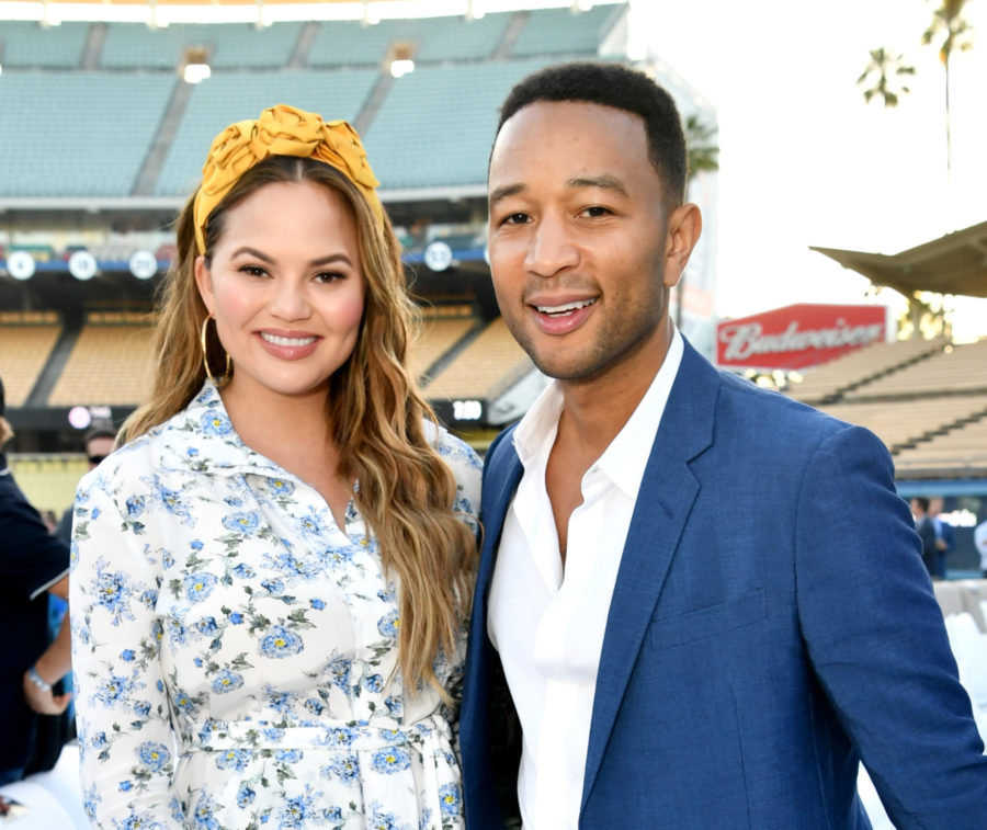 Chrissy Teigen had the best response to husband John Legend's Emmy nomination