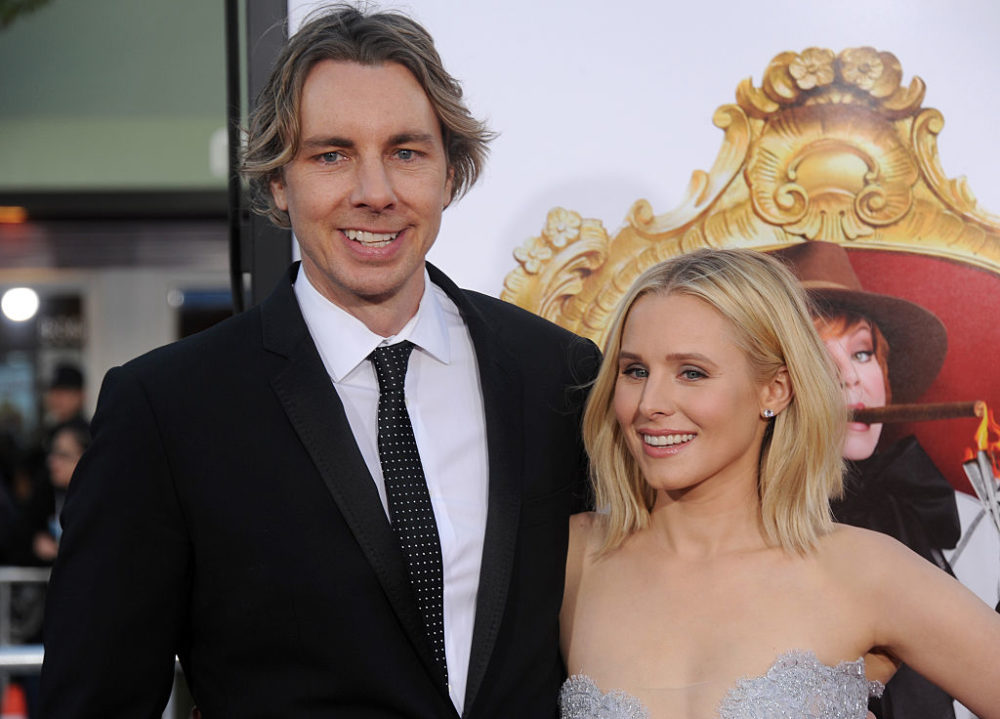 Kristen Bell revealed the first thing Dax Shepard ever texted her, and LOL