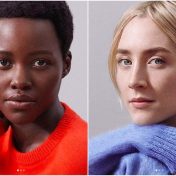 Lupita Nyong'o and Saoirse Ronan are barely wearing any makeup in their Calvin Klein campaign