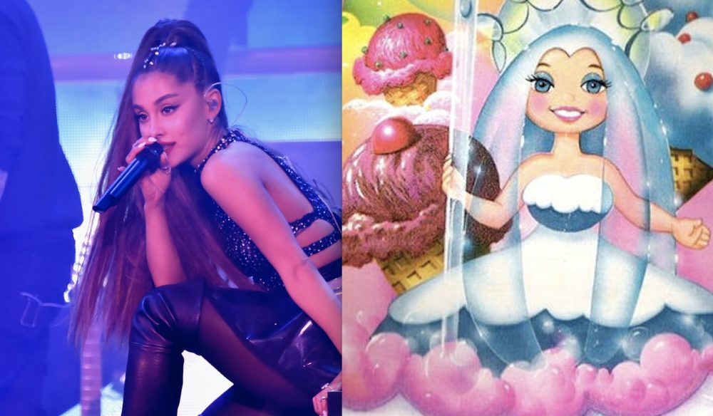 Ariana Grande debuted icy blue hair, is officially Queen Frostine from Candy Land