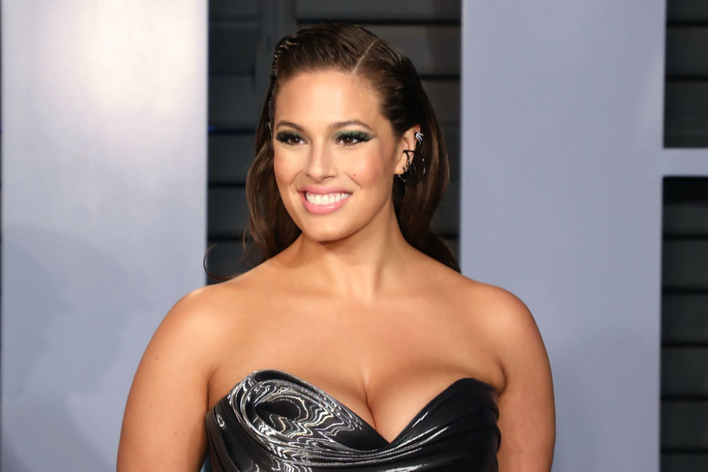 Ashley Graham had the best response to a fan who said she looked pregnant