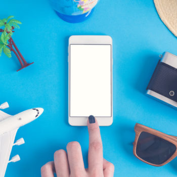 I learned to unplug from social media while traveling because, pics or no pics, it definitely happened