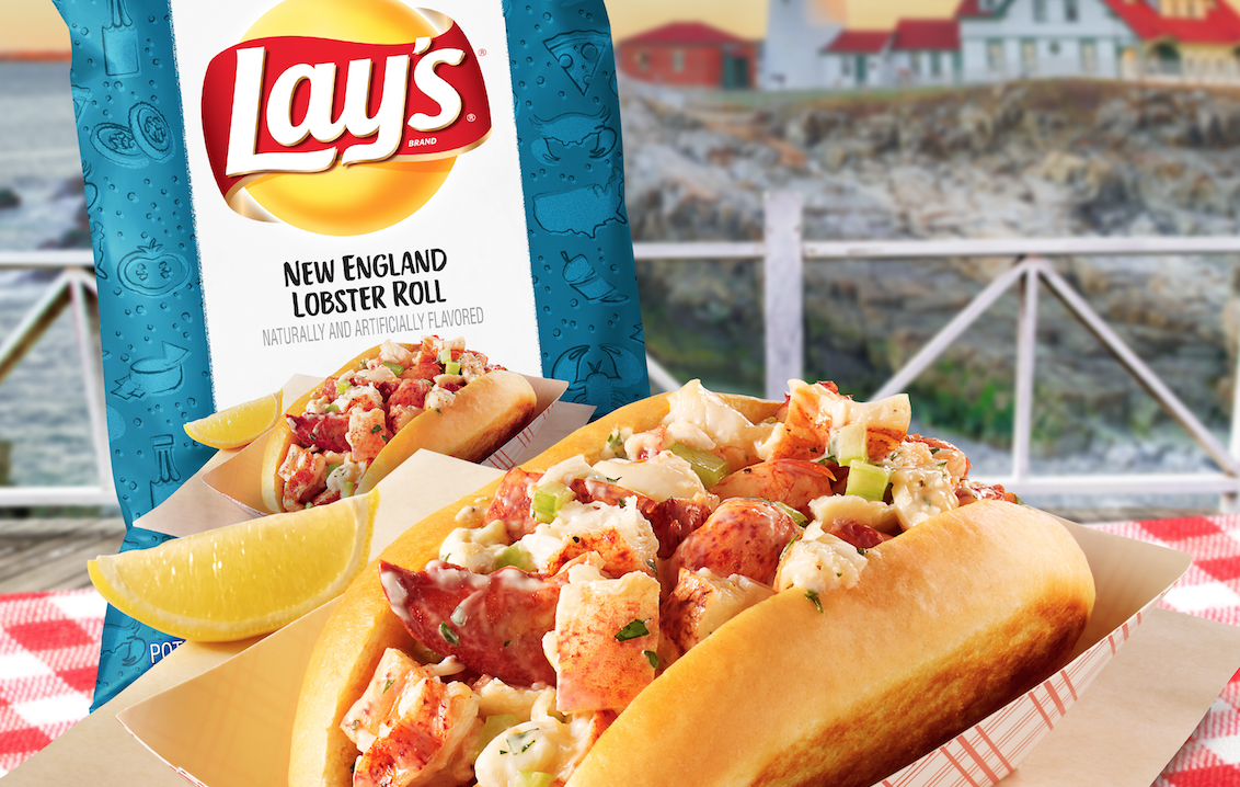 Lay's is releasing new chip flavors inspired by regional cuisine, like lobster rolls and deep-dish pizza