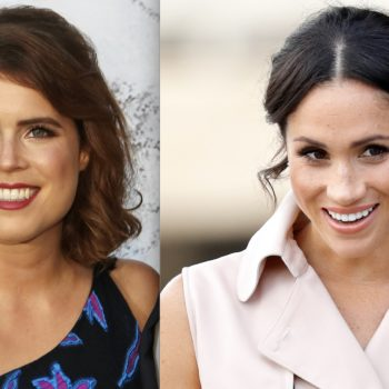 Royal bride-to-be Princess Eugenie stepped out in the same heels Meghan Markle wore for her engagement