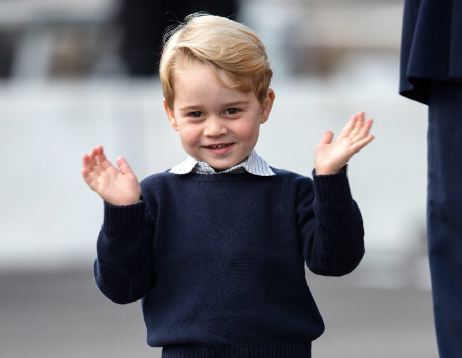 We now have a never-before-seen photo of baby Prince George, thanks to Prince Charles