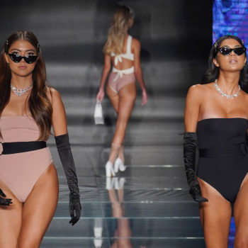 Models are accusing a brand of discrimination during Miami Swim Week