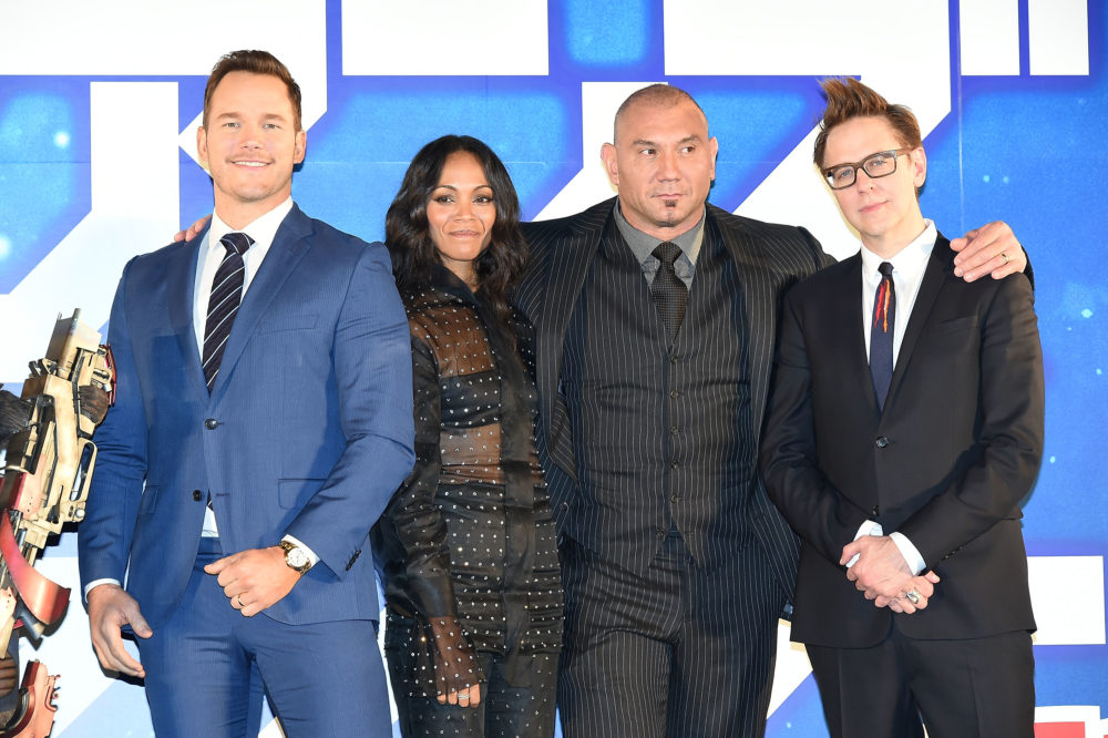 The <em>Guardians of the Galaxy</em> cast wrote an open letter of support for James Gunn
