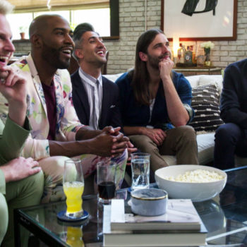 Two iconic <em>Queer Eye</em> couples went on a double date, and this is the crossover we needed