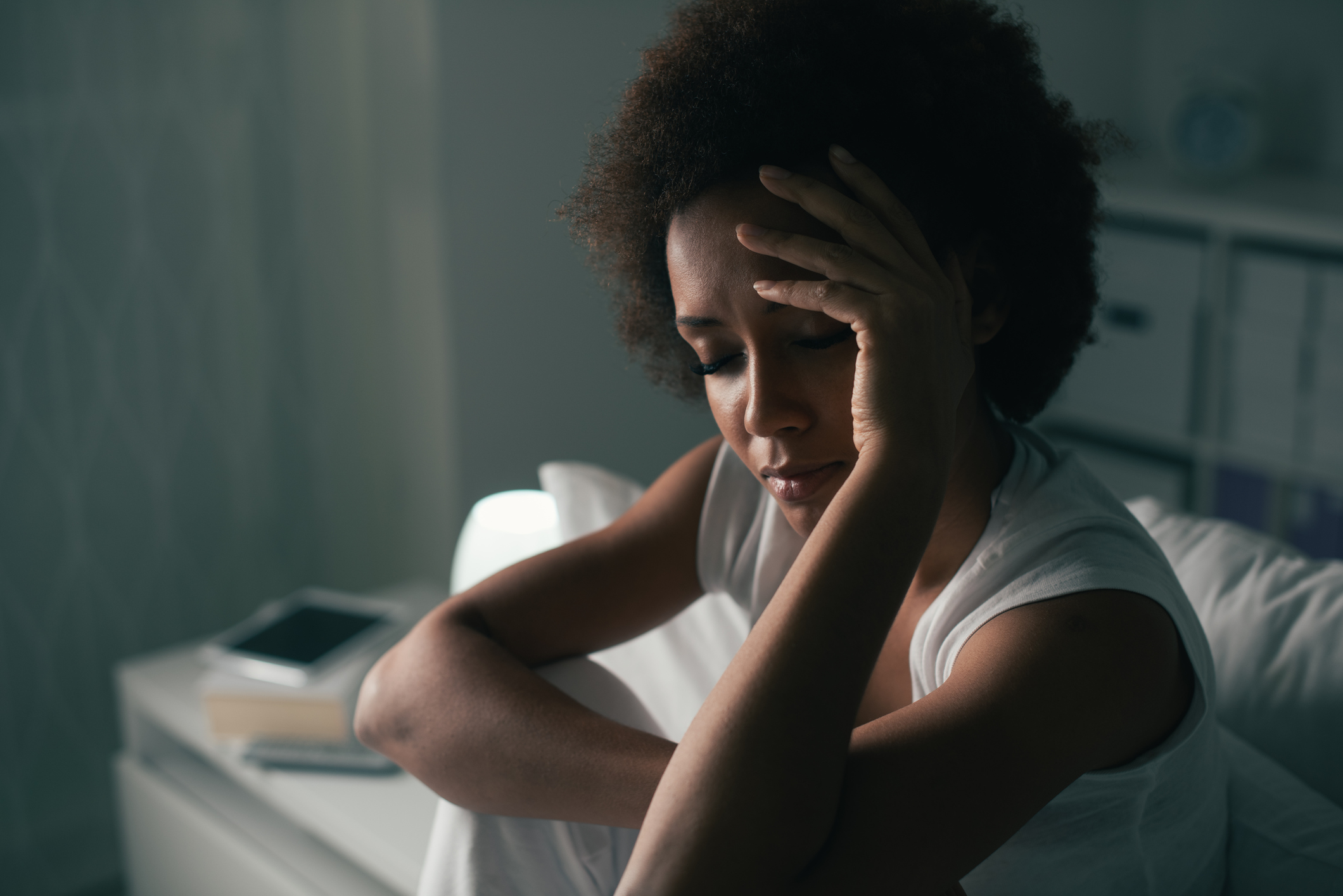 Ever felt irritable or depressed after not getting enough sleep? Here's why