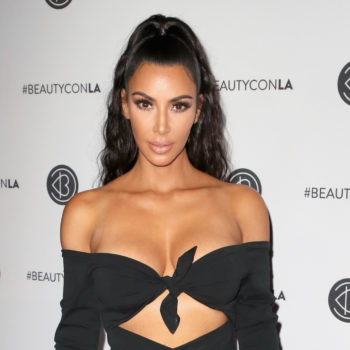 """Kim Kardashian joked that Adrienne Bailon could've been North's """"auntie"""" while watching <em>Cheetah Girls</em>, and LOL"""