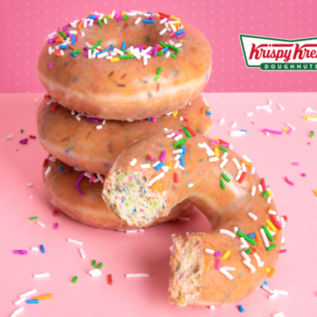 You can get a dozen Krispy Kreme donuts for $1 this week