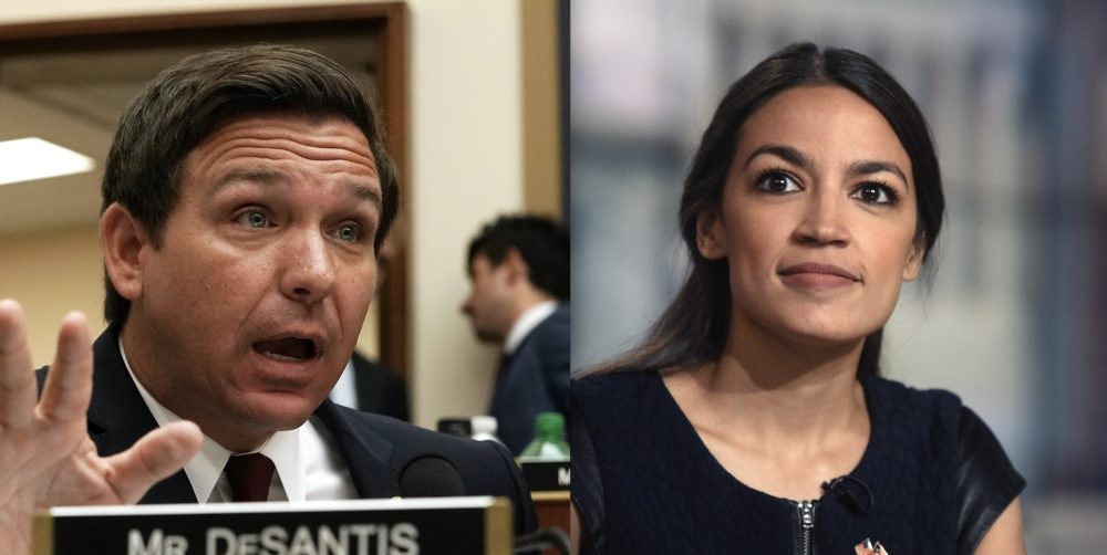 "Alexandria Ocasio-Cortez clapped back at a Republican politician who referred to her as ""this girl"""