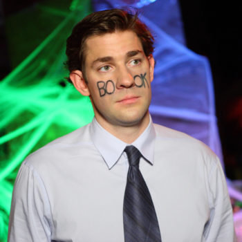 John Krasinski really wants a <em>The Office</em> reunion because he's worried about what Jim's doing in the future
