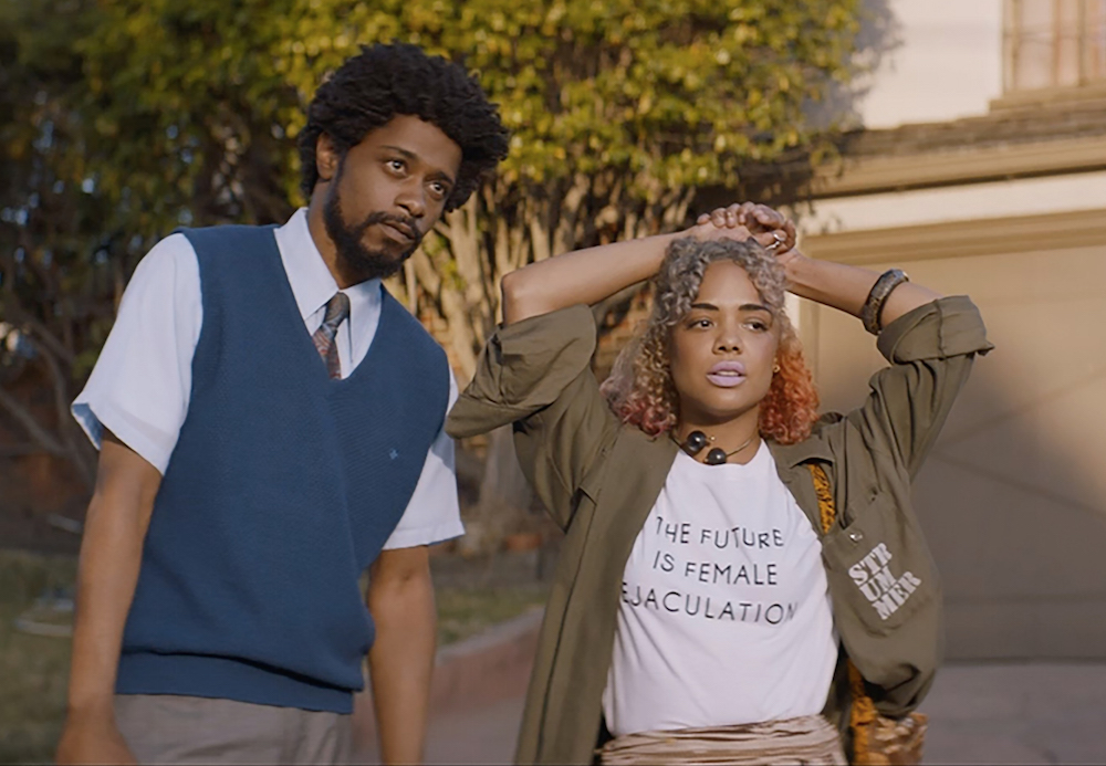 "The costume designer of ""Sorry To Bother You"" tells us how most of the film's iconic looks are thrift scores"