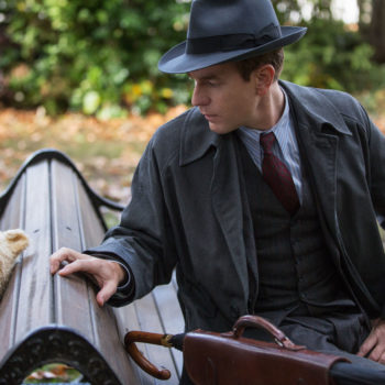 Watch Ewan McGregor answer some beary important <em>Christopher Robin</em> questions about honey and heffalumps