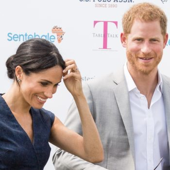 Prince Harry and Meghan Markle showed some serious PDA, and we're swooning