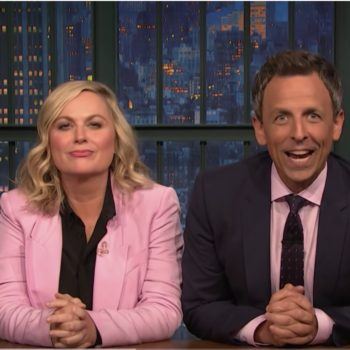 """Amy Poehler and Seth Meyers brought back """"Really!?!"""" on <em>Late Night</em>, and we needed this"""