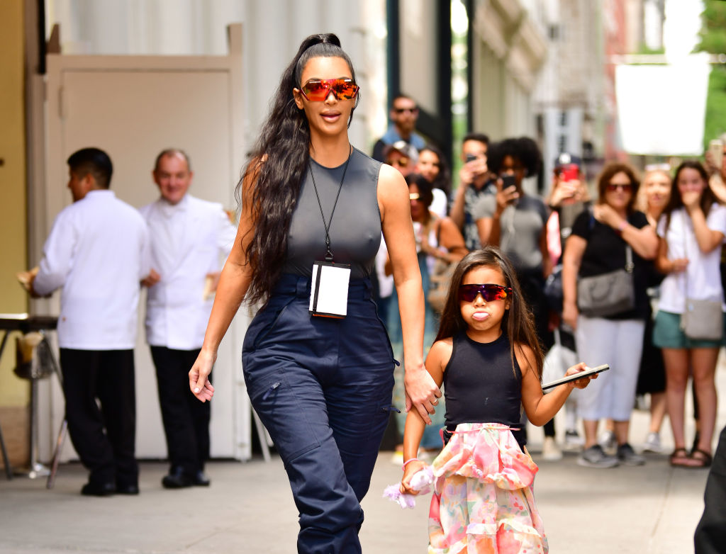 Kim Kardashian had the most calm response to someone who told her not to straighten North's hair