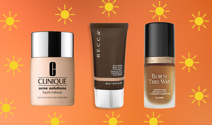 These are the oily skin-approved foundations I use to stay flawless in the heat