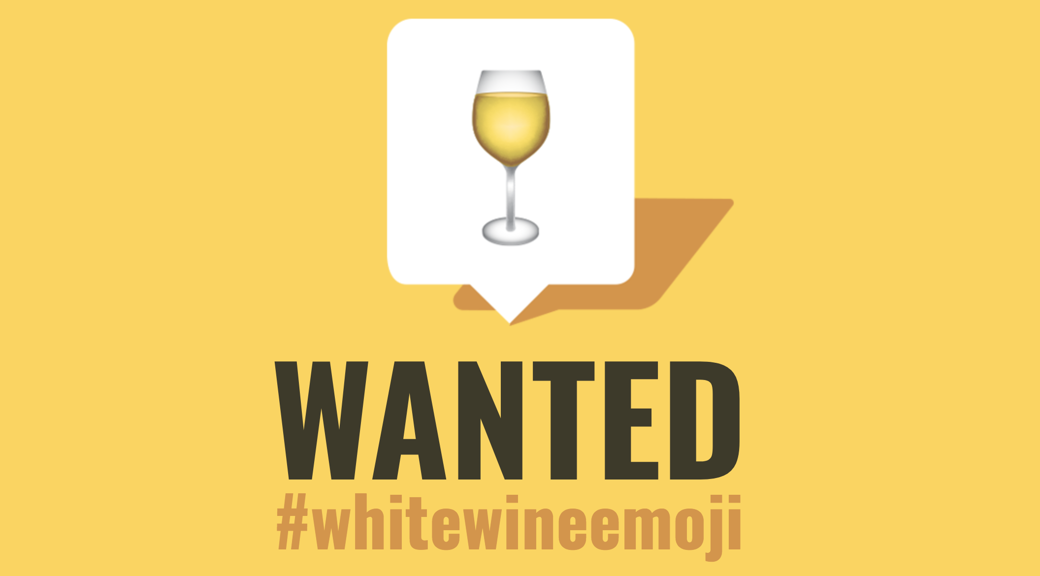 This company submitted a 15-page proposal for a white wine emoji, and we get it