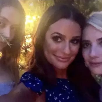 Lea Michele's engagement party featured so many of our favorite celebs