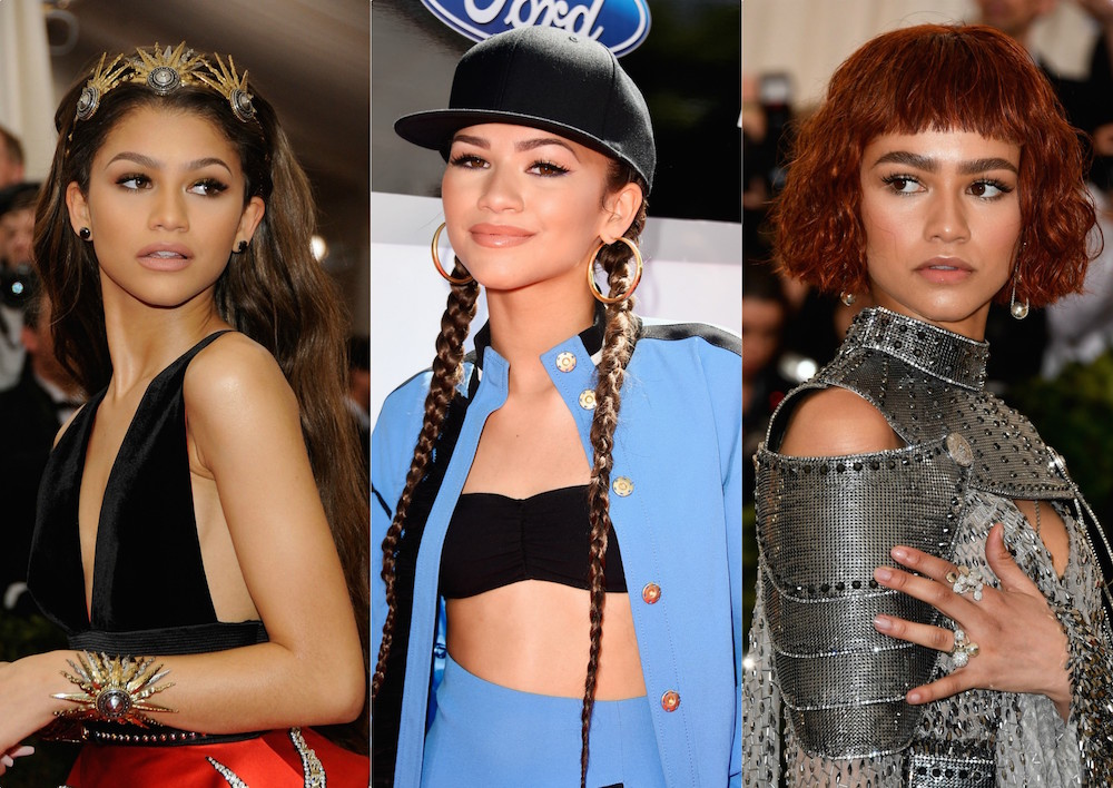 28 of Zendaya's best red carpet fashion moments, from oversized suits to elegant armor