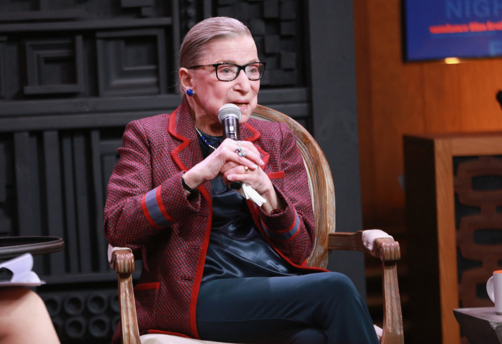 Ruth Bader Ginsburg says she plans to work for at least 5 more years, and YASS, JUSTICE