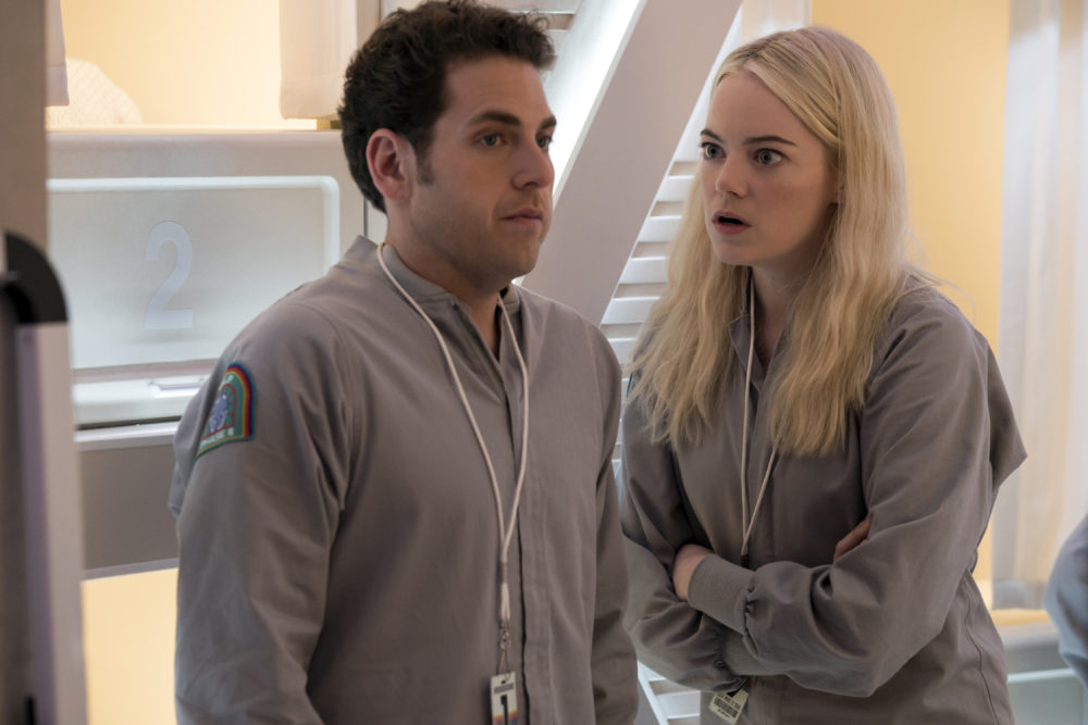 The full trailer for Jonah Hill and Emma Stone's new Netflix series <em>Maniac</em> is trippy AF