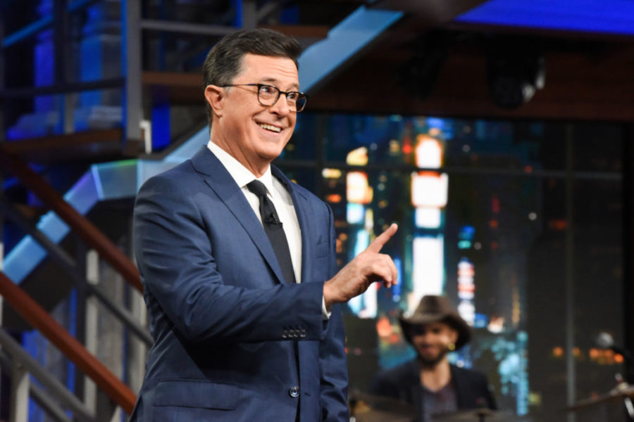 Stephen Colbert addressed sexual misconduct allegations against his boss Les Moonves