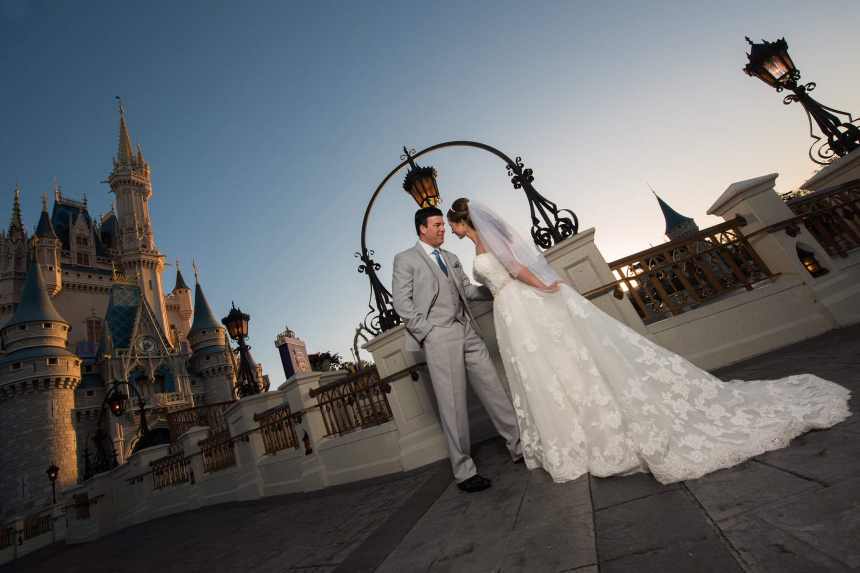 We talked to a bride who had a Disney Fairy Tale Wedding, and here's everything she told us