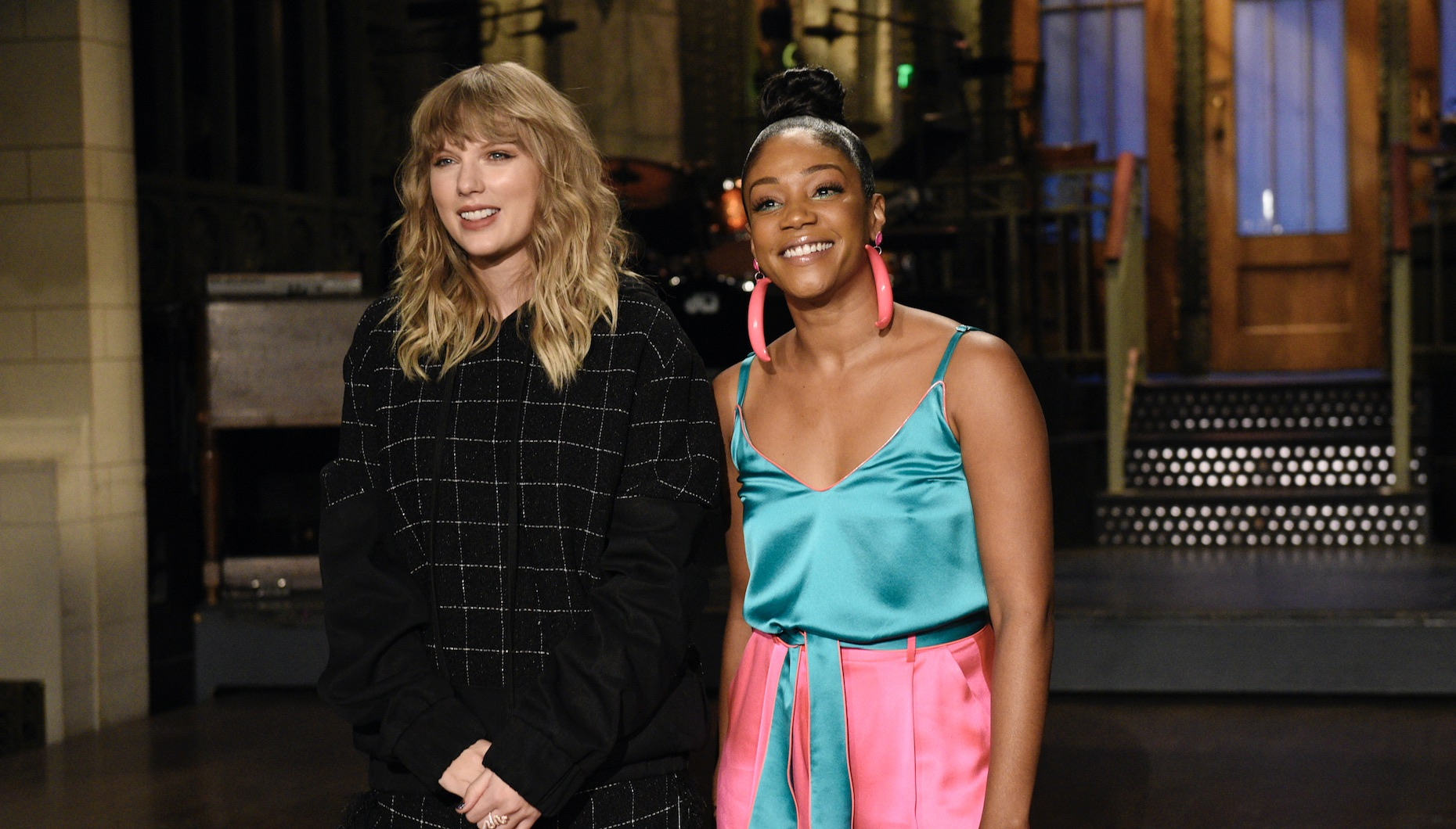 Taylor Swift once cooked Tiffany Haddish dinner, and it sounds damn delicious