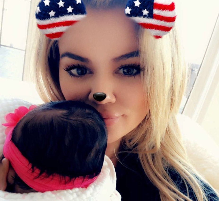 "Khloé Kardashian got real about mommy-shamers who criticize her time away from True: ""Do you think I'm leaving my child alone?"""