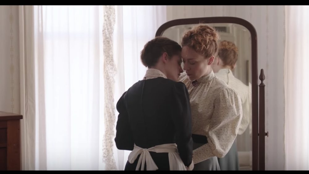 The trailer for Kristen Stewart and Chloë Sevigny's Lizzie Borden movie puts a feminist, LGBT-friendly spin on the tale