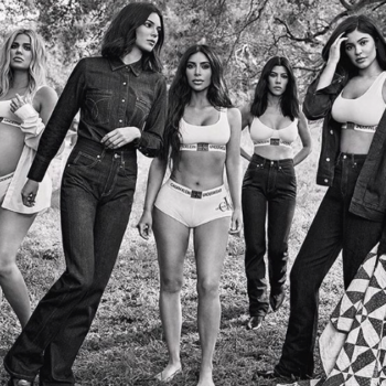 Fans think there's a major Photoshop fail in this Kardashian Calvin Klein ad