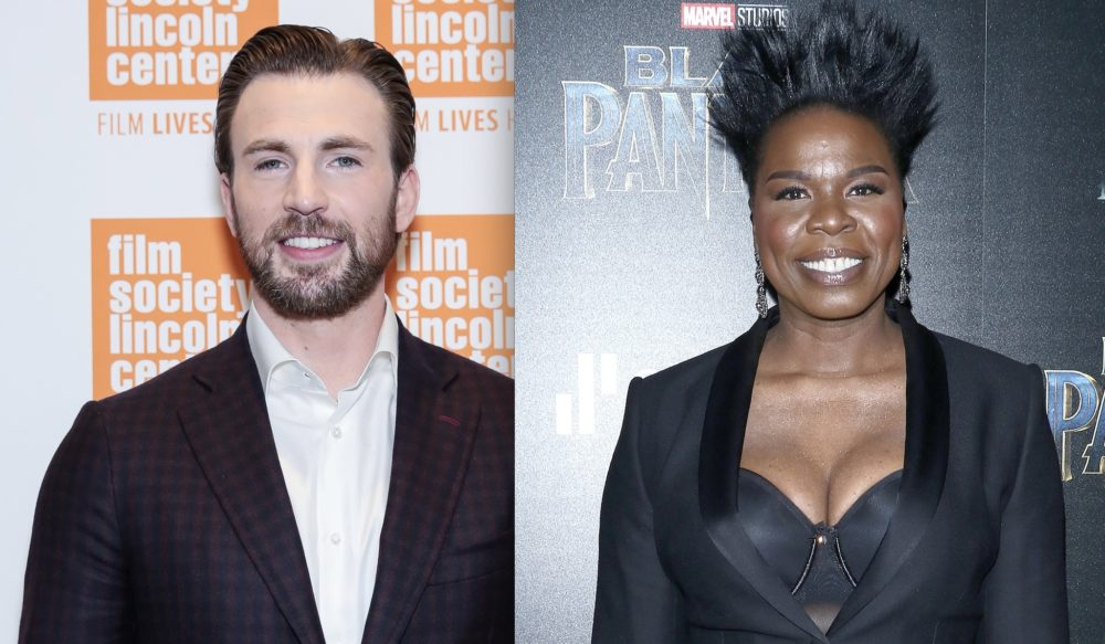 Chris Evans hilariously responded to Leslie Jones' live-tweets about <em>Avengers: Infinity War</em>