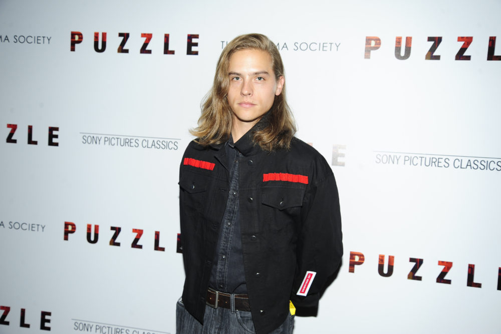 Dylan Sprouse cut off a ton of hair—and looks like whole new human