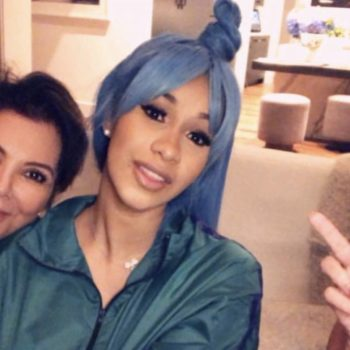Cardi B hung out with the Kardashians and shared the most relatable Instagram post about her experience